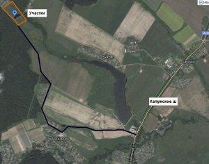 Посмотреть схему проезда от Калужского ш.